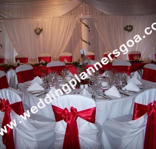 Christian Wedding Reception Ideas: Wedding Planners Goa